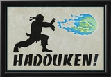 Hadouken Video Game Poster Photo