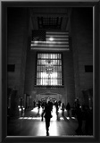 American Flag in Grand Central Station Posters