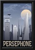 Persephone Retro Travel Poster Prints