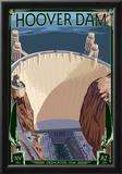 Hoover Dam Aerial Prints