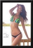 Gabriella Collado Bikini Poster by Mario Brown