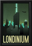 Londinium Retro Travel Poster Prints