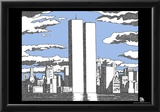 World Trade Center Names Memorial Text Poster Print