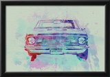Chevy Camaro Watercolor 2 Posters