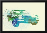 Chevy Camaro Watercolor Prints