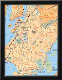 Michelin Official Brooklyn Map Art Print Poster Photo