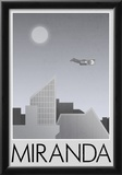 Miranda Retro Travel Poster Posters