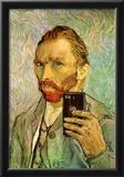 Vincent Van Gogh Selfie Portrait Posters