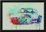 Porsche 911 Watercolor 2 Posters
