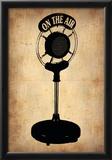 Vintage Radio Microphone Posters