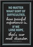 Dalai Lama Hope Quote Motivational Poster Poster