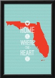 Home Is Where The Heart Is - Flordia Poster