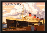 Long Beach, California - Queen Mary Prints