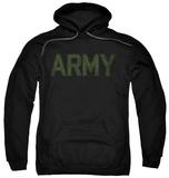 Hoodie: Army - Type Pullover Hoodie