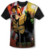 Youth: Judge Dredd - Democracy(black back) T-Shirt