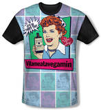 Youth: I Love Lucy - All Over Vita Comic(black back) T-shirts