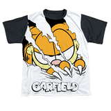 Youth: Garfield - Torn(black back) T-Shirt