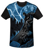 Youth: Batman - Lightning Strikes(black back) T-shirts