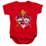 Infant: Power Rangers - Retro Rangers Infant Onesie