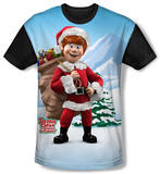 Youth: Santa Claus Is Comin To Town - Helpers(black back) Shirts