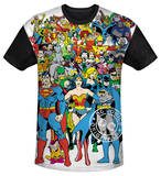 Youth: DC Comics - Original Universe(black back) T-shirts