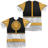 Power Rangers - White Ranger(Front/Back Print) Sublimated