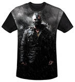 Youth: The Dark Knight Rises - Bane In Rain(black back) T-shirts