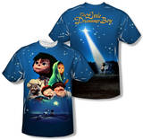 Little Drummer Boy - Look To The Stars (Front/Back Print) T-Shirt