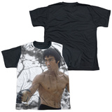 Youth: Bruce Lee - Battle Ready(black back) T-shirts