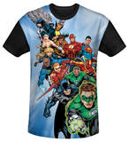 Youth: Justice League - Heroes Unite(black back) T-shirts