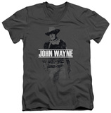 John Wayne - Fade Off V-Neck T-shirts