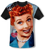 Youth: I Love Lucy - Smile(black back) T-shirts