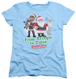 Womans: Santa Claus Is Comin To Town - Kringle To Claus T-Shirt