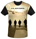 Youth: Air Force - Long Walk(black back) T-Shirt