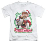 Youth: Santa Claus Is Comin To Town - Penguin T-shirts