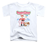 Toddler: Santa Claus Is Comin To Town - Animal Friends Shirt