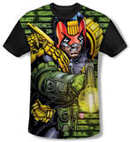 Youth: Judge Dredd - Matrix(black back) T-Shirt
