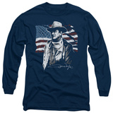 Long Sleeve: John Wayne - American Idol T-Shirt