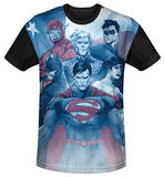 Youth: Justice League - United(black back) Shirt