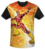 Youth: The Flash - Fast As Lightning(black back) T-Shirt