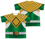 Youth: Power Rangers - Green Ranger (Front/Back Print) T-shirts