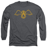 Long Sleeve: Aerosmith - Retro Logo T-shirts