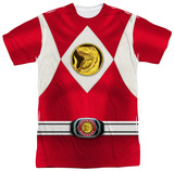 Power Rangers - Red Ranger Emblem T-shirts