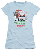 Juniors: Santa Claus Is Comin To Town - Kringle To Claus T-Shirt