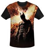 Youth: The Dark Knight Rises - Fire Poster(black back) T-Shirt