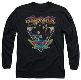 Long Sleeve: Aerosmith - Triangle Stars T-shirts