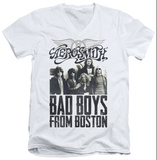 Aerosmith - Bad Boys V-Neck T-shirts