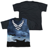 Youth: Air Force - Take Off(black back) T-shirts