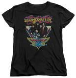 Womans: Aerosmith - Triangle Stars T-Shirts