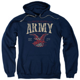 Hoodie: Army - Arch Pullover Hoodie